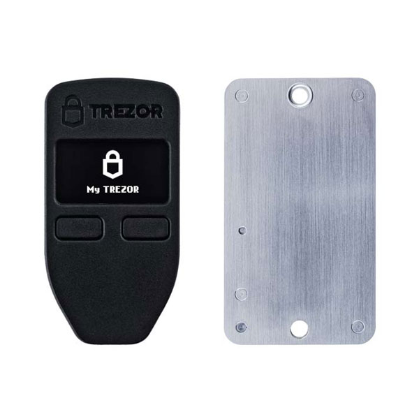 Trezor one cryptohardware